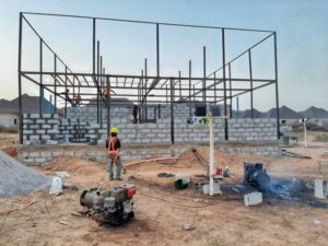 lgands modular apartments projects nigeria lg&s modular ltd 45 crew building frame